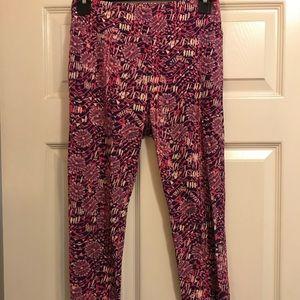 LuLaRoe Pink Leggings